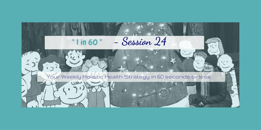 1 in 60 Session 24 : Merry Christmas & Focusing on People instead of Food