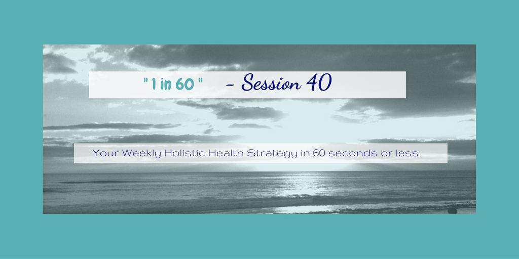 1 in 60 Session 40 : Tools to help stick with a new habit like … Meditation