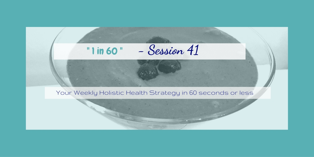1 in 60 Session 41 : How to make Vanilla Chia Pudding, super easy snack for health