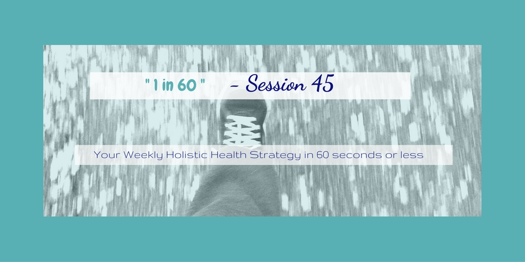 1 in 60 Session 45 : How to manage stress better by simply leaving earlier