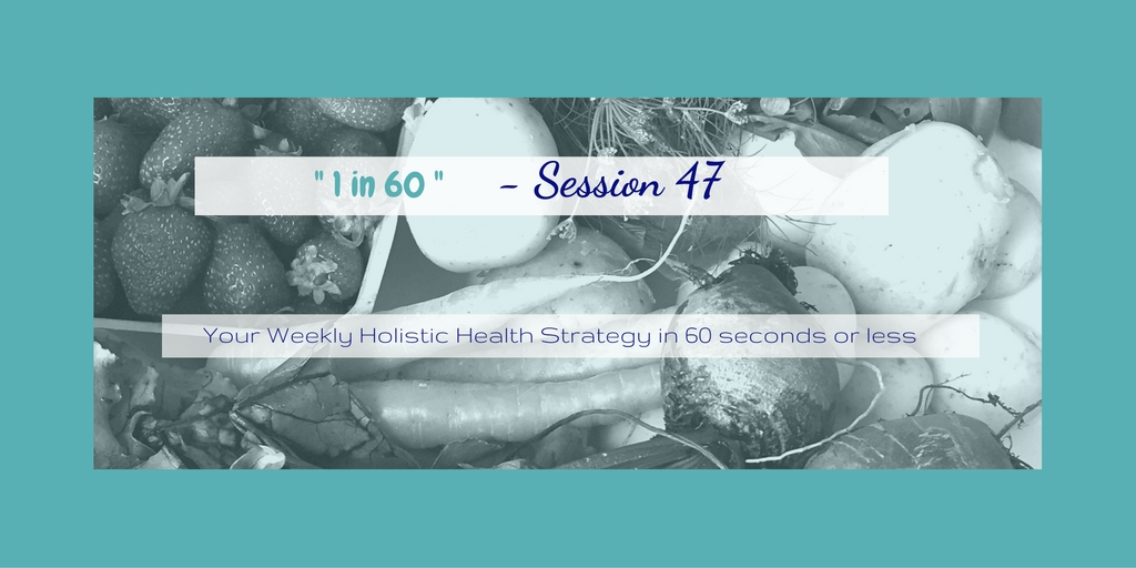1 in 60 Session 47 : Confused at the grocery store? Simplifying what you're eating