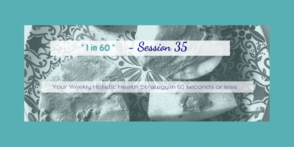 1 in 60 Session 35 : Quick & Easy On-the-Go Snacks