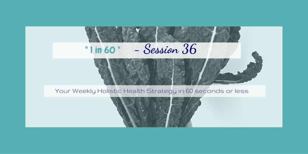 1 in 60 Session 36 : Decrease your sugar cravings